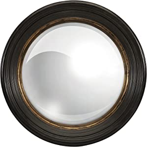 "Home Decorators Collection Manning Mirror, 25.5"" Diameter, Black"