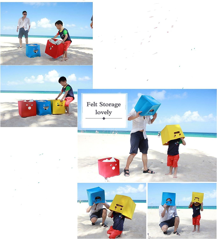 Baby Toys Kids Toys Gift Baskets Felt Toy Chest Baskets Storage Bins Organizer Children Books Baby Clothing FISHSHOP Storage Basket Dog Toys Perfect for Organizing Toy Storage