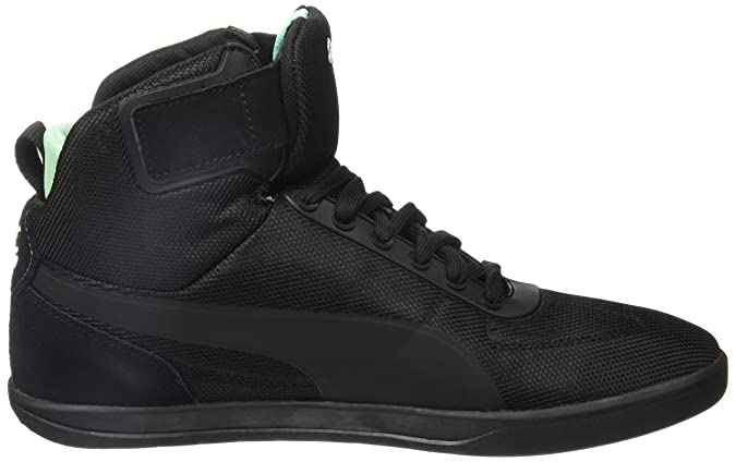 Puma Men s MAMGP Upole Nico Black and Opal Leather Safety Shoes - 12  UK India (47 EU)  Buy Online at Low Prices in India - Amazon.in 71e814a51