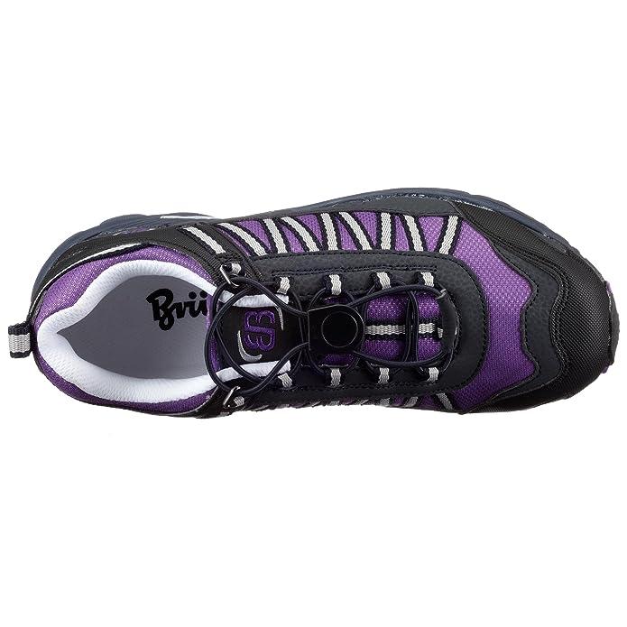 Brütting Sidney 381004, ragazza scarpe, Walking Sport, Viola (violett (lila-marine-weiss)), 33