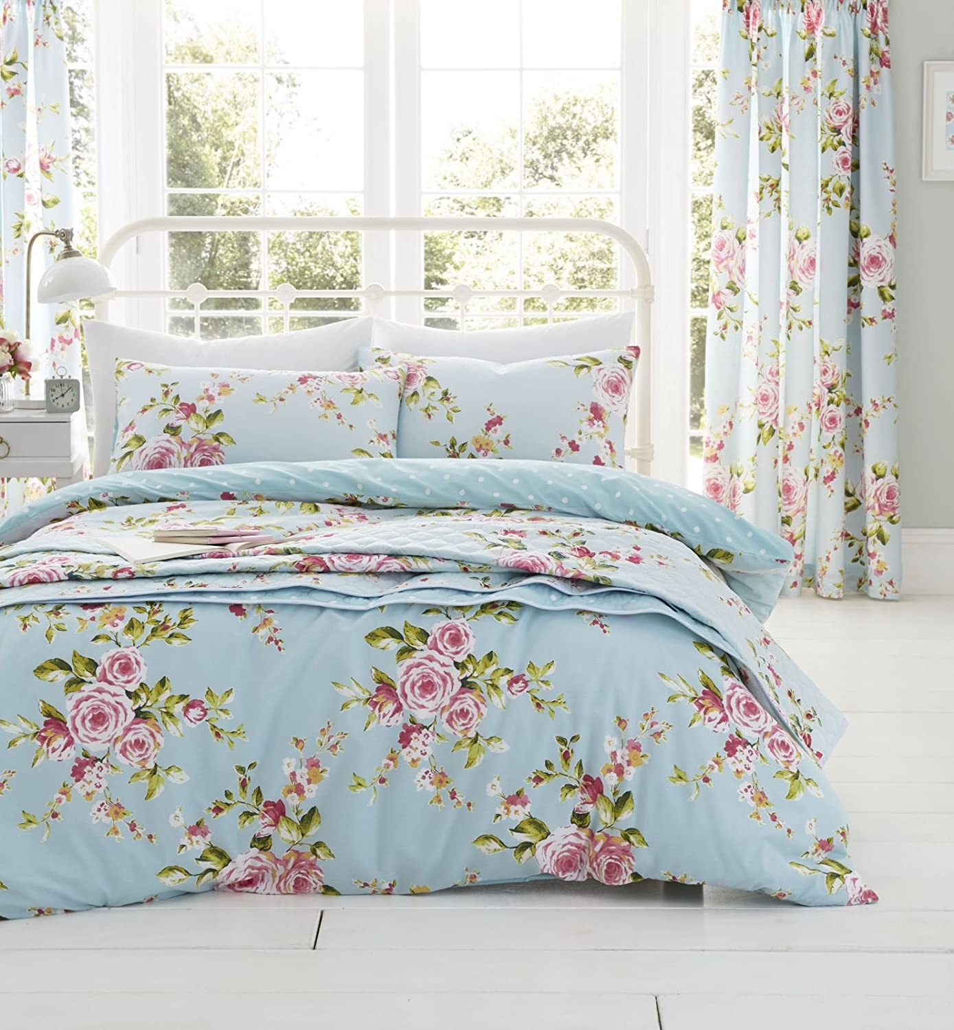 Catherine Lansfield Canterbury Double Duvet Set, Multi by Catherine Lansfield BDB2 8239 WDHQ