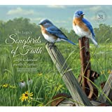 Legacy Publishing Group 2018 12-Month Mini Wall Calendar with Scripture, Songbirds of Faith