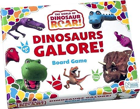 The World of Dinosaur Roar- Dinosaurios Galore Juegos de Mesa (Paul Lamond Games 7355): Amazon.es: Juguetes y juegos