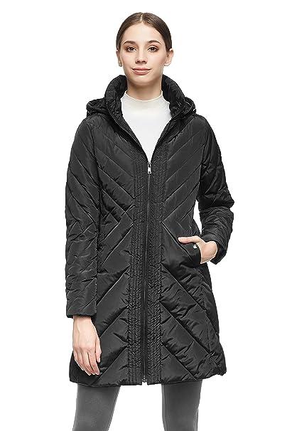 Amazon.com: Orolay - Chaqueta de plumón para mujer, chaqueta ...