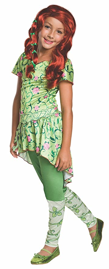 Amazoncom Rubies Costume Kids Dc Superhero Girls Poison Ivy
