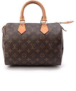 f80602c9df29 Louis Vuitton Monogram Denim Speedy Round - Yellow  Handbags  Amazon.com