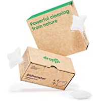 Dropps Dishwasher Detergent Pods: Lemon | 32 Count | Sparkling Shiny Dishes | Powers Away Baked On Food | Deep Cleans No…