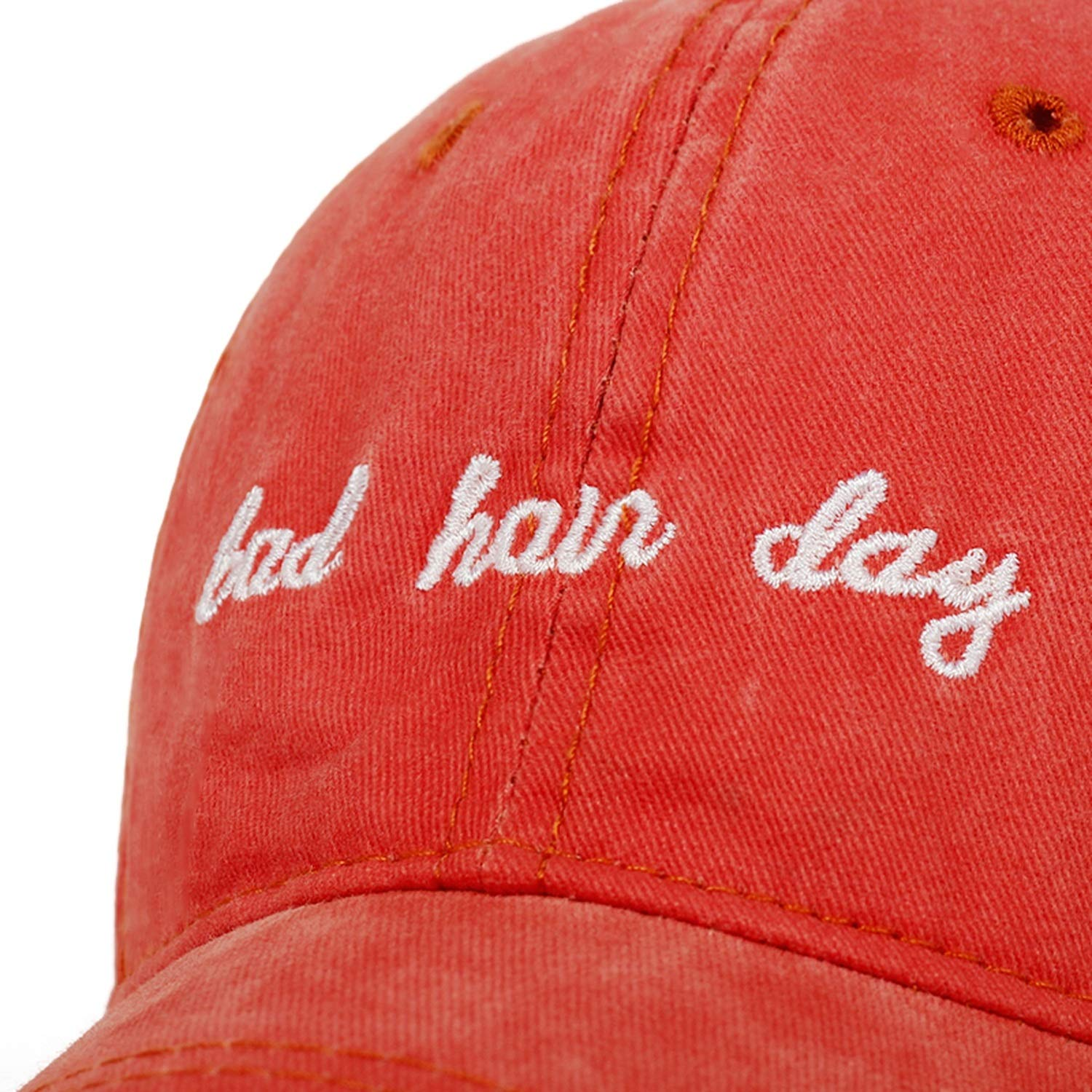 Voic-A 2019 New Bad Hair Day Letter Embroidery Dad Hat Men and Women Cotton Fashion Baseball Cap Outdoor