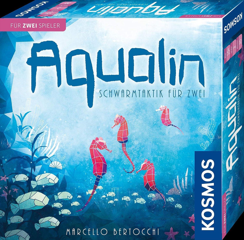 KOSMOS 691554 Aqualin Schwarmtaktik f/ür zwei Brettspiel f/ür 2 Spieler  ab 10 Jahre