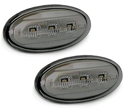 LED Seitenblinker für Mazda 2 3 5 6 MPV chrom