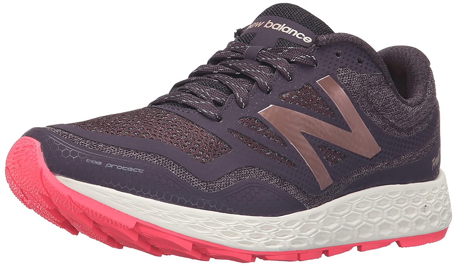 New Balance Women's Fresh Foam Gobi Neutral Trail Running Shoe B019CV85UE 11 B(M) US|Grey/Pink