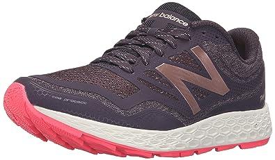 New Balance Women's Fresh Foam Gobi Trail Running Shoe, Grey/Pink, ...