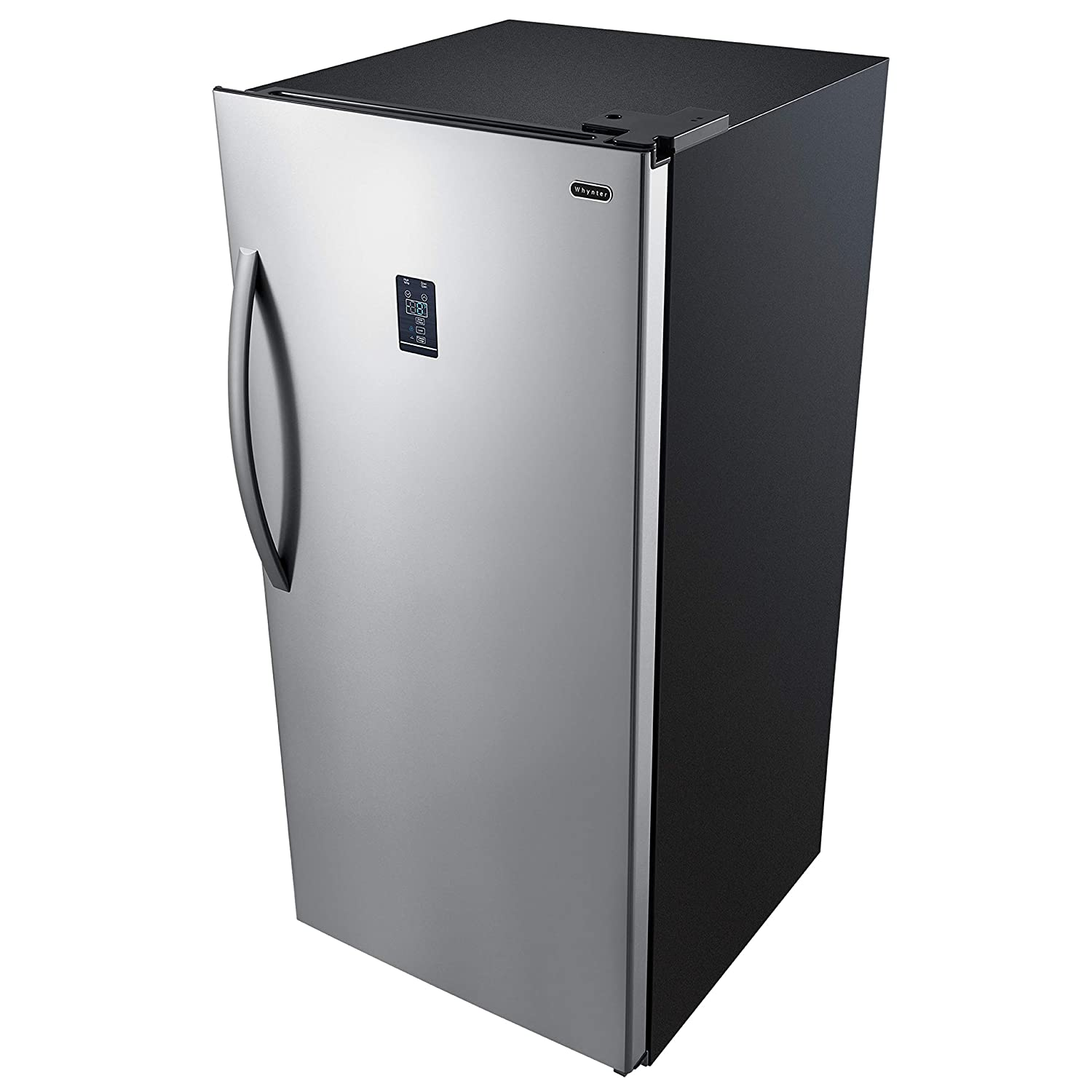 Whynter UDF-139SS 13.8 cu.ft. Energy Star Digital Upright Convertible Deep Stainless Steel Freezer Refrigerator, One Size,