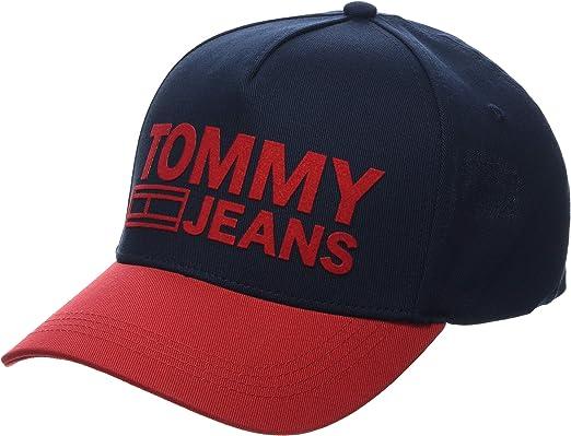 Tommy Hilfiger Tju Logo Cap Gorra de béisbol, Azul (Corporate Mix ...