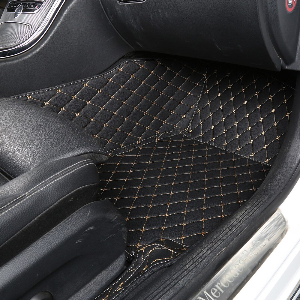 Infiniti qx60 rubber floor mats - Amazon Com Worth Mats Custom Fit Luxury Xpe Leather Waterproof Floor Mat For Infiniti Qx80 Qx56 Black Automotive