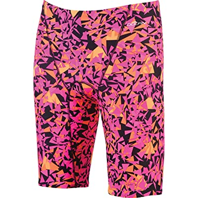 .com : Dolfin Men's Winners Jammer (Pink/Orange, 36) : Clothing