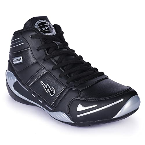 a65ad83c3ba Campus Explore Lifestyle Black Casual Shoes  Buy Online at Low Prices in  India - Amazon.in