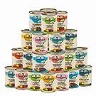 Landfleisch 30 x 800 g Pur Dosen Mix | aus 13 Sorten Frei wählbar | + MIOMERA Gratis Snack