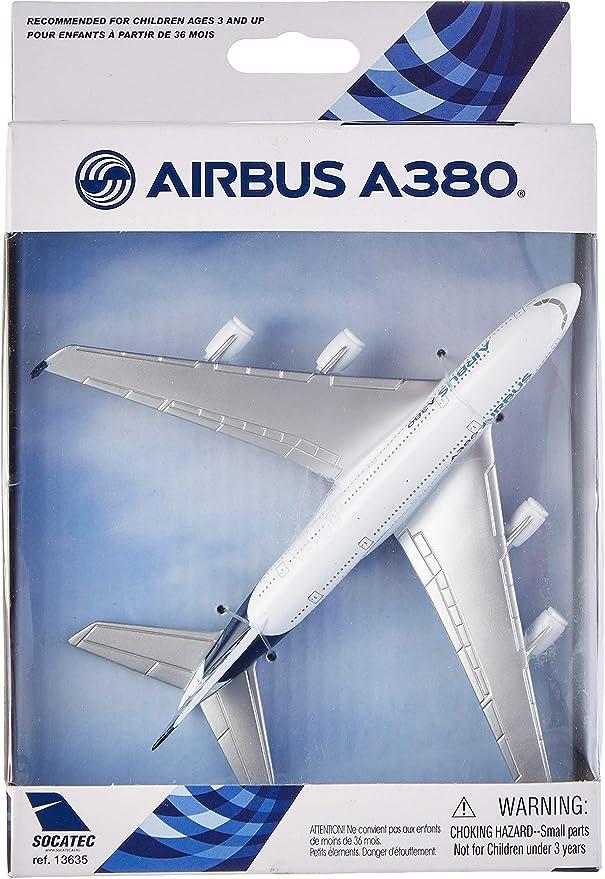 Amazon Com Daron Airbus Single Plane A380 Toys Games