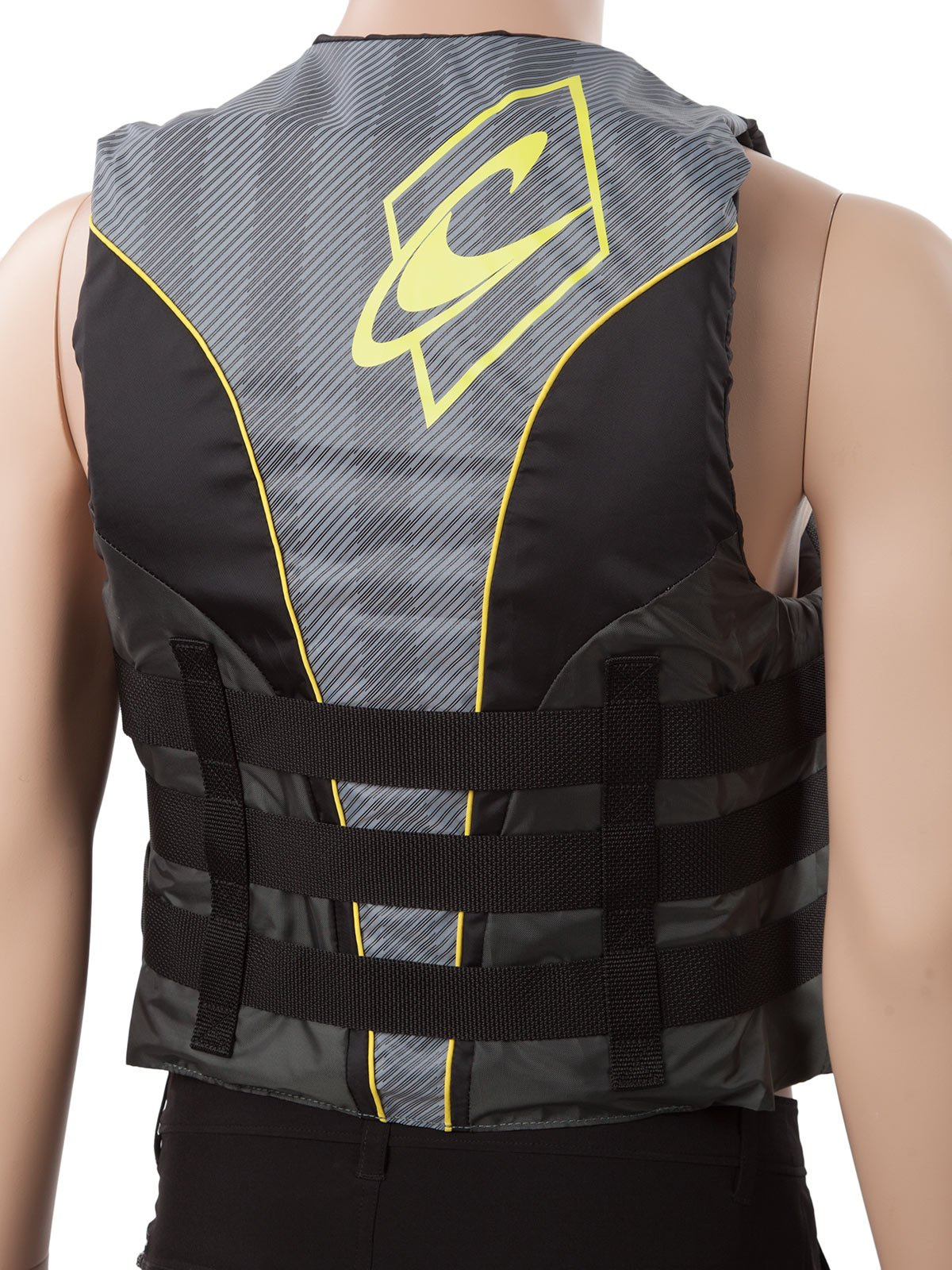 O'Neill Mens Superlite USCG Life Vest M Black/Graphite/Smoke/Yellow (4723) by O'Neill (Image #5)