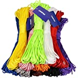 CAMTOA 100ft 7 Strand Nylon Cord Parachute Rope Lanyard Desert Rope for Camping Hiking Travelling Outdoor & Home Uses