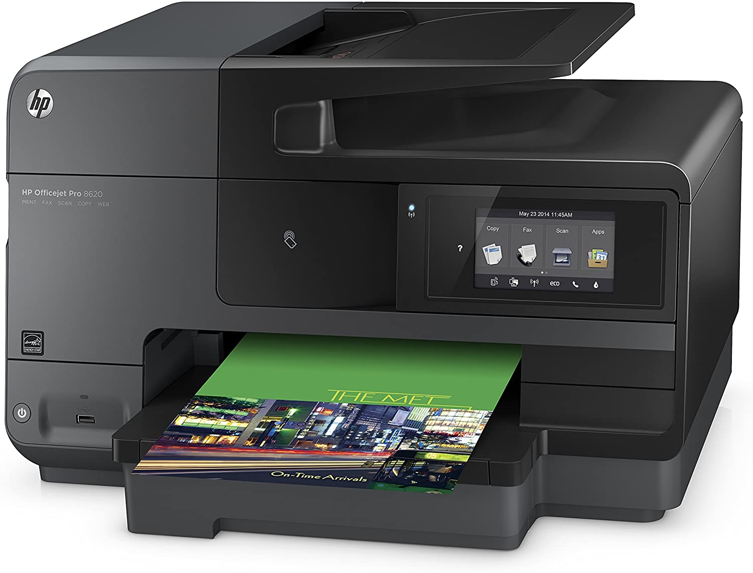 HP OfficeJet Pro 8620 All-in-One Wireless Printer with Mobile Printing, Instant Ink ready (A7F65A)