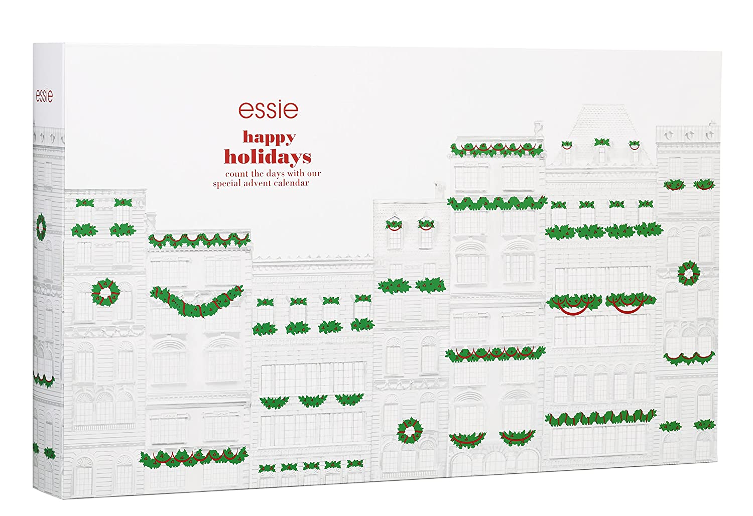 Essie Advent Calendar 2016, Pack of 1 (1 x 24 Items): Amazon.co.uk ...