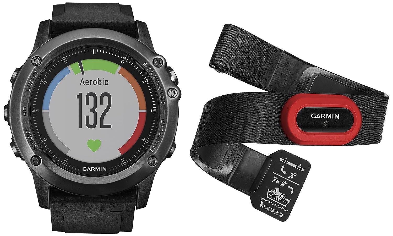 Garmin Fēnix 3 Zafiro HR - Reloj multideporte con GPS y pulsera de ...