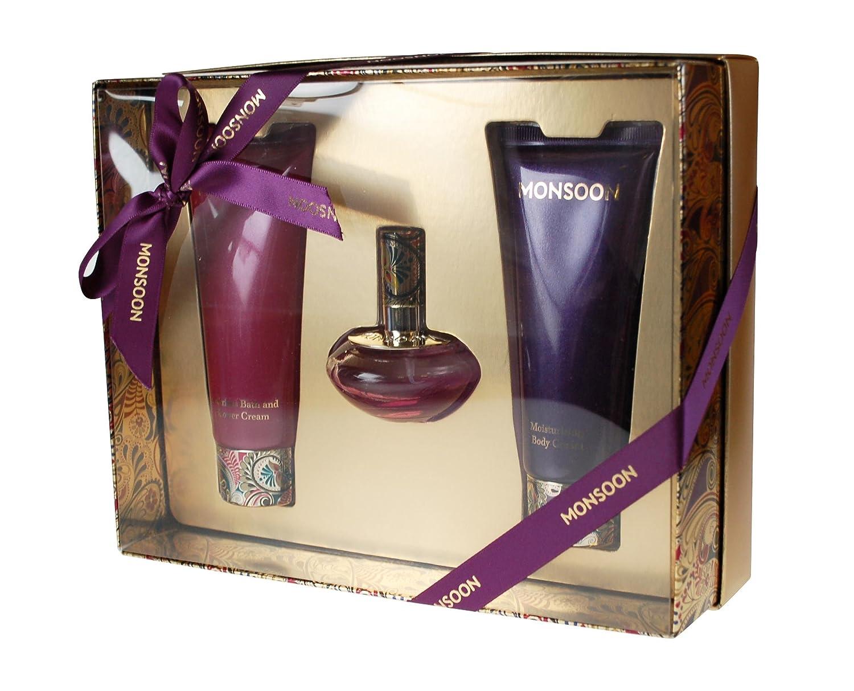 Monsoon Gift Set Eau De Toilette 30ml Body Cream 100ml