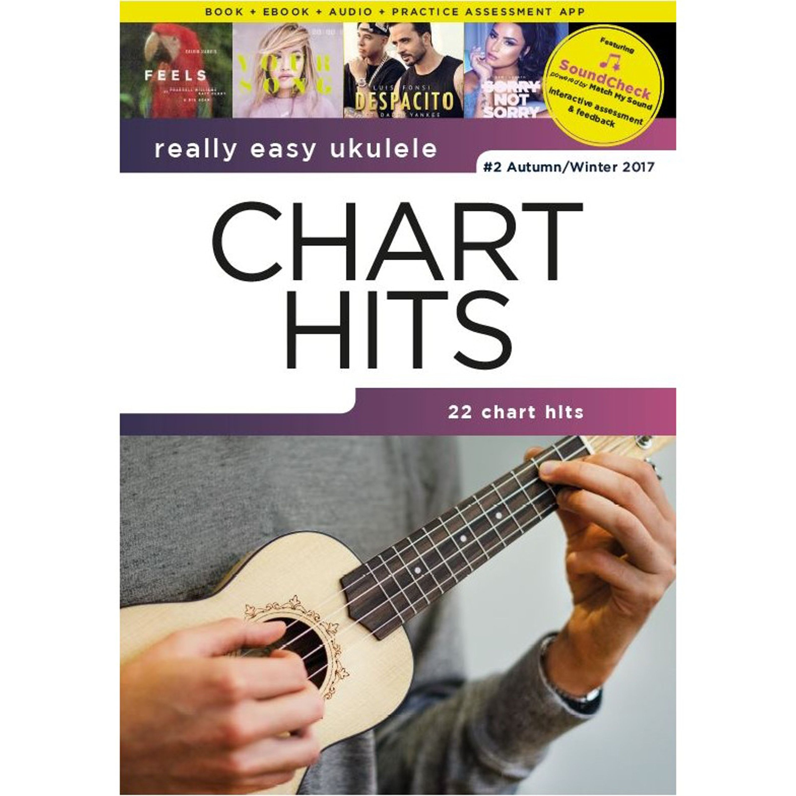 Amazon.fr - Really Easy Ukulele: Chart Hits - 2 Autumn/Winter 2017 -  Compilation - Livres