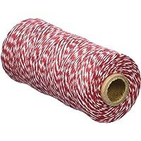 Mopec Cordón 4 Hilos X Trenzado, Textil, Blanco
