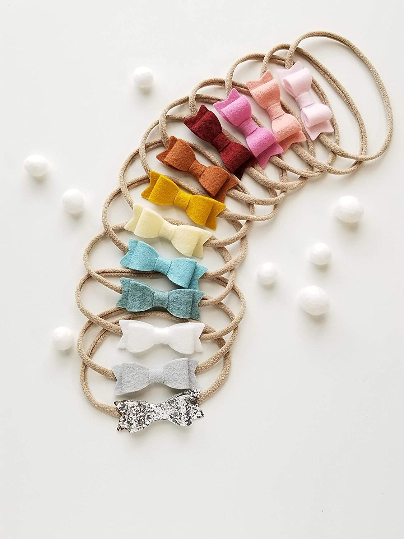 Rainbows Baby infant Toddler Headband Bow Cool Cute Colourful Handmade Gift Fun
