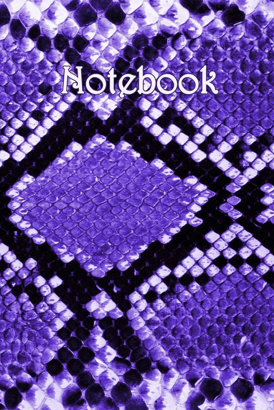 Download Notebook: Snakeskin Purple - Bespoke, personalised notebook. Contact us if you would like your own image and name on a notepad ebook