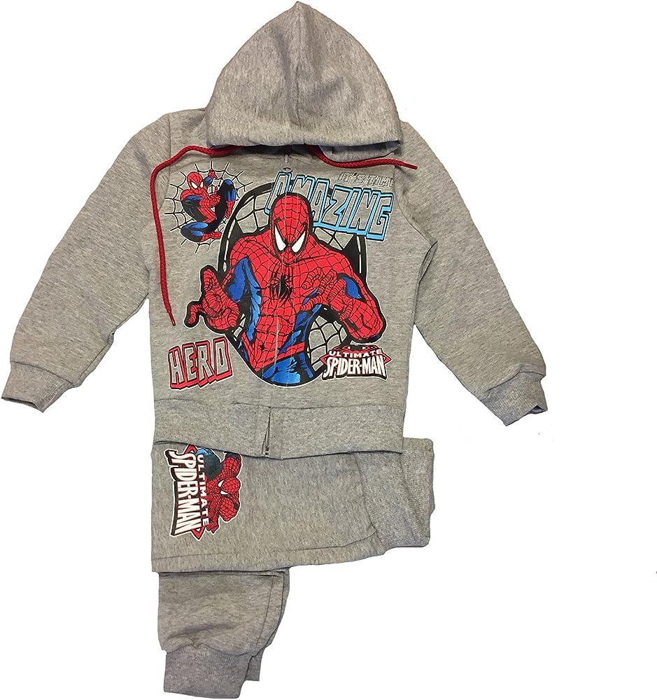 Chándal Spiderman Mis. 3 4 5 6 7 años Sudadera con Capucha + ...