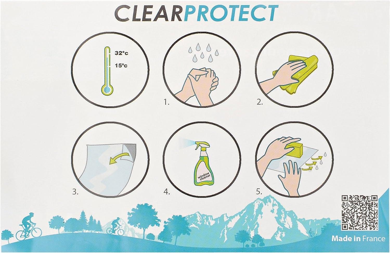 Clearprotect Schutzfolie Für Rahmen Werkstatt 10m Farbe Transparent Glänzend Sport Freizeit