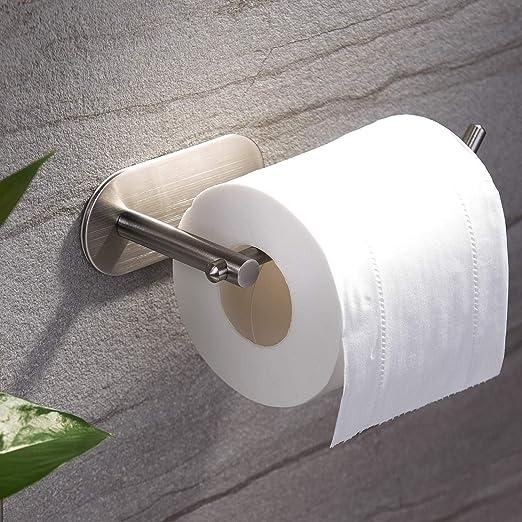YIGII Adhesive Toilet Paper Holder MST001 Self Adhesive Toilet Roll Holder ...