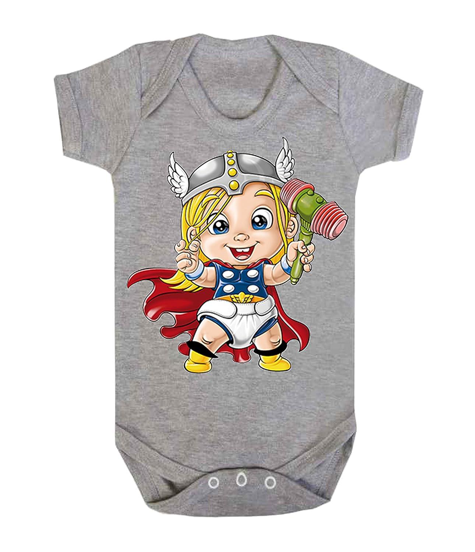 Baby Thor Baby Weste Strampler Brecrest Babywear One-teiliges Hero Comics Superheld Neuheit Brecrest Babywear ICKLE PEANUT