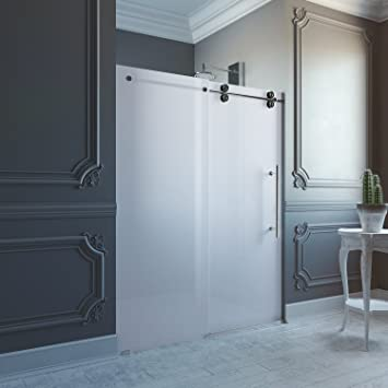vigo shower doors. VIGO Elan 56 To 60-in. Frameless Sliding Shower Door With .375- Vigo Doors V