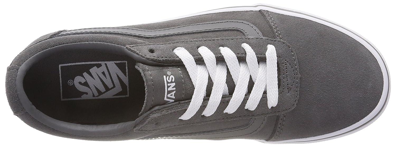 Vans Damen Ward Suede Sneaker Grau ((Suede) Pewter/Weiß 794) 794) 794) e1282a