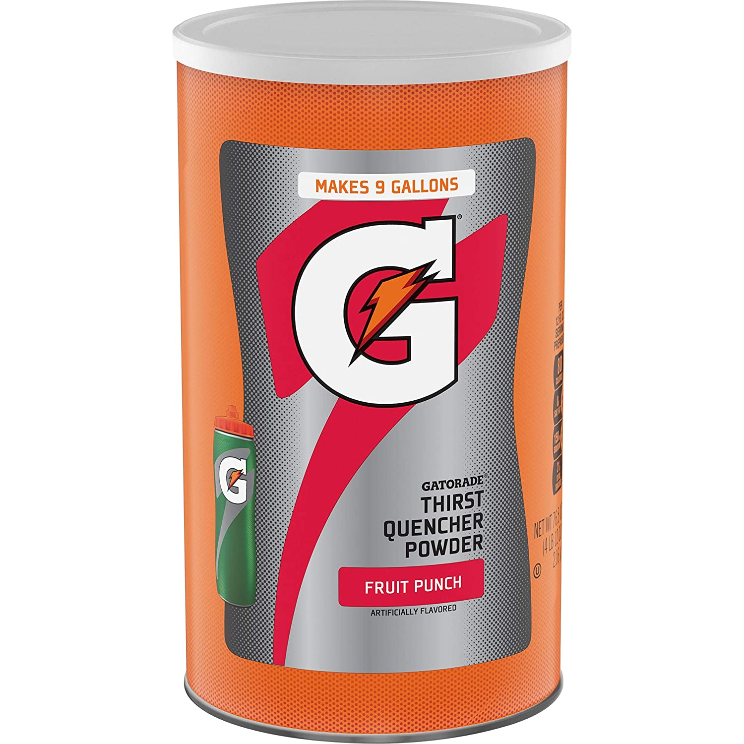 Gatorade Thirst Quencher Powder, Fruit Punch, 76.5 oz Canister
