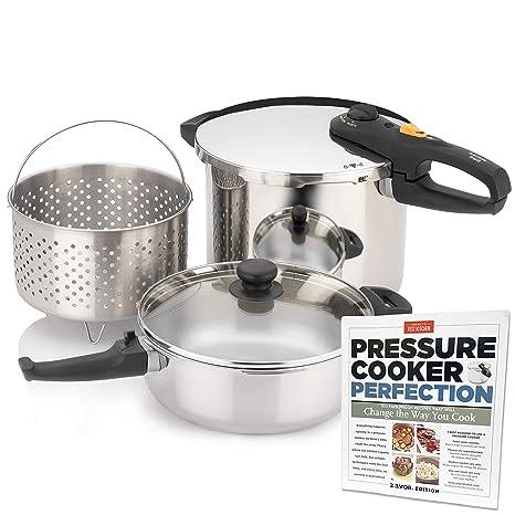Amazon.com: Zavor DUO - Olla a presión: Kitchen & Dining