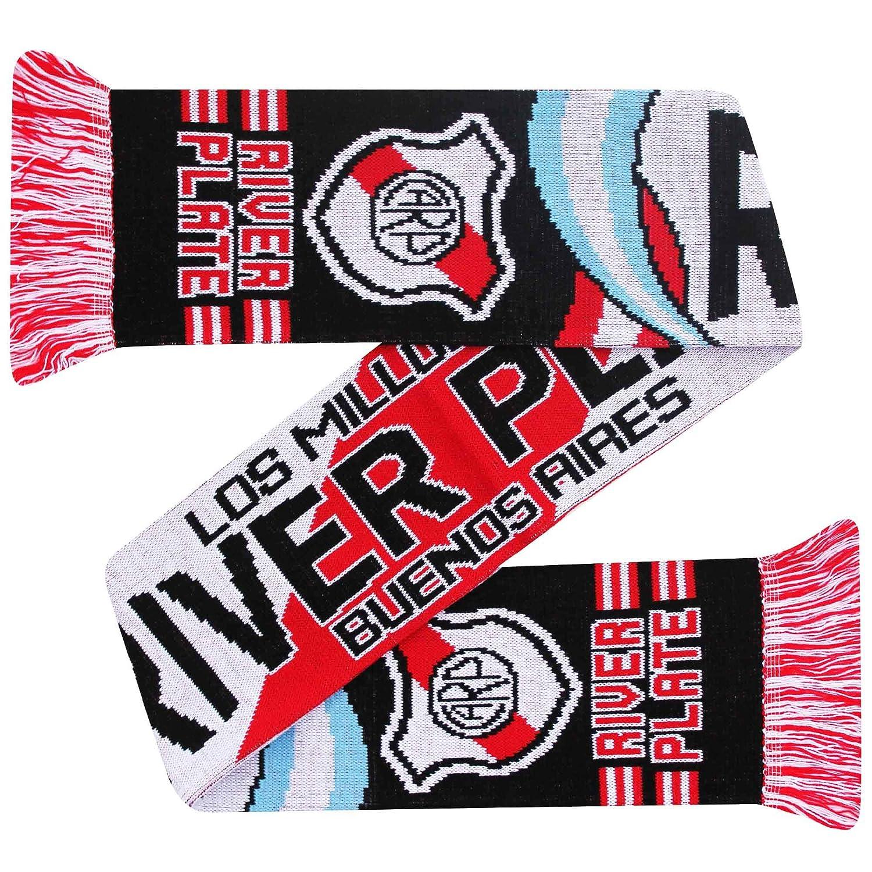 100/% Acrilico CA River Plate Carp Los Millonarios Football Crest Sciarpa