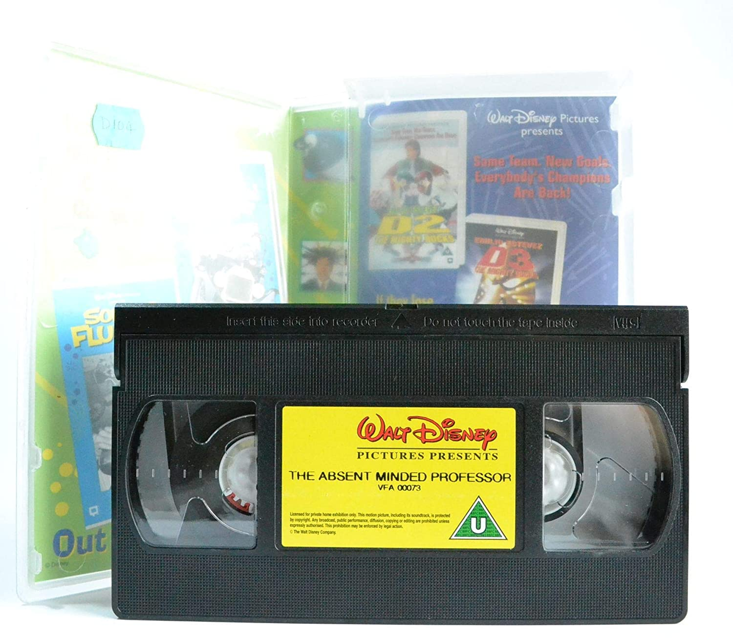 The Absent-Minded Professor [Reino Unido] [VHS]: Amazon.es ...