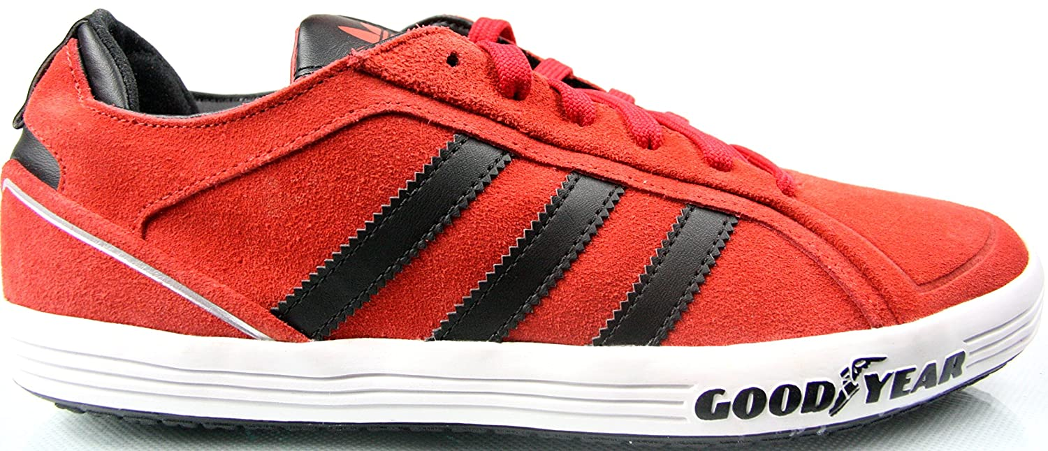 adidas Goodyear Driver Vulc G44886 Red Trainers Red Size: 6.5:  Amazon.co.uk: Shoes & Bags