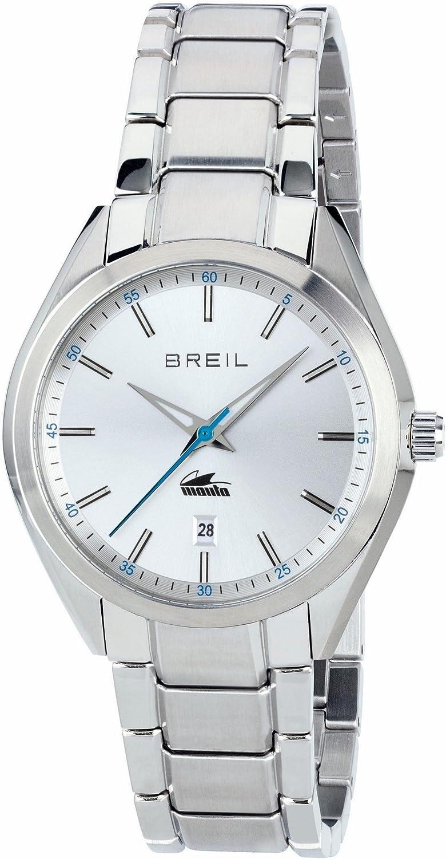 Breil Reloj Analogico para Hombre de Cuarzo con Correa en Acero Inoxidable TW1610