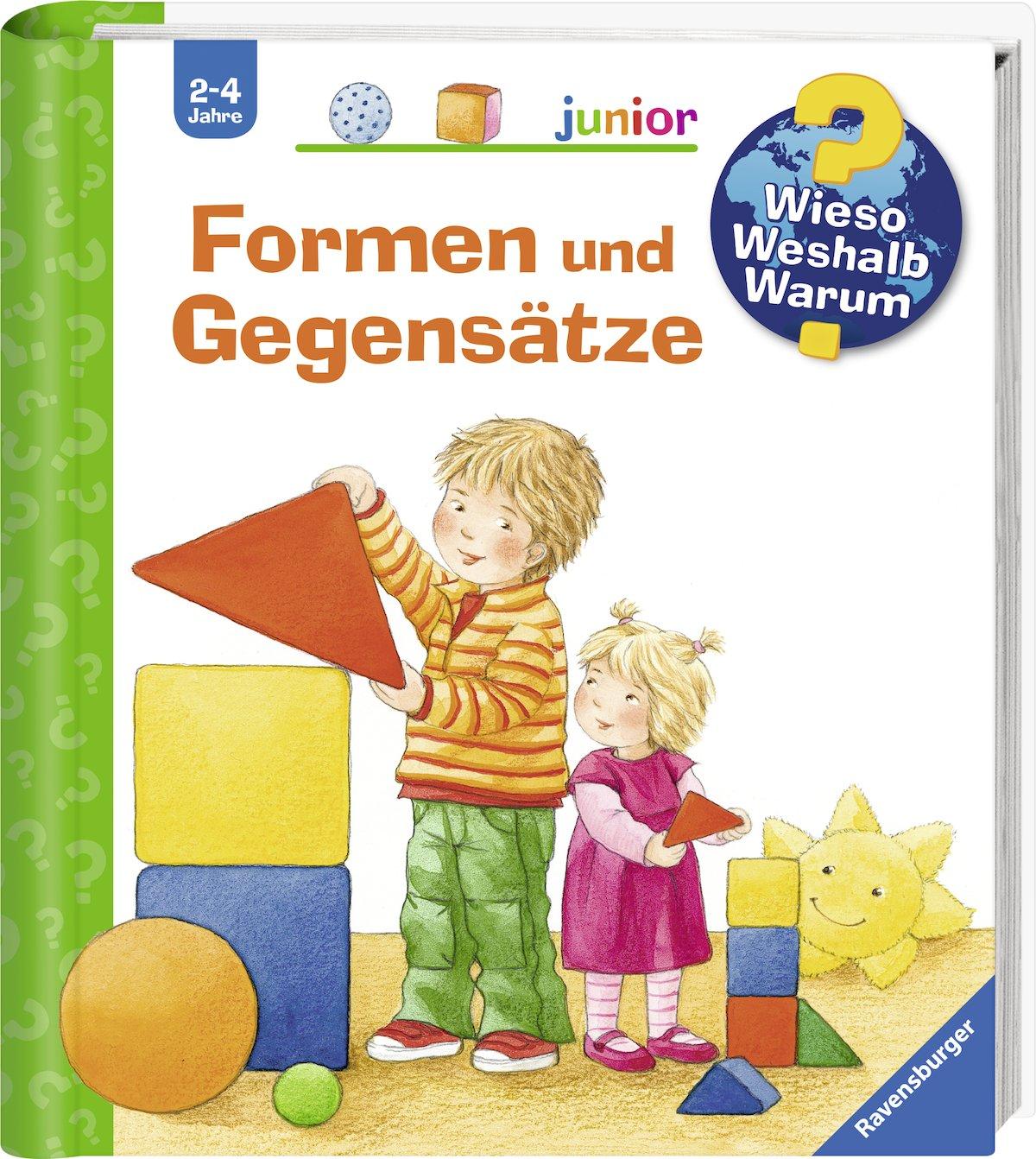 Formen und Gegensätze (Wieso? Weshalb? Warum? junior, Band 31) Gebundenes Buch – 1. Juni 2009 Andrea Erne Ursula Weller Ravensburger Buchverlag 3473328111