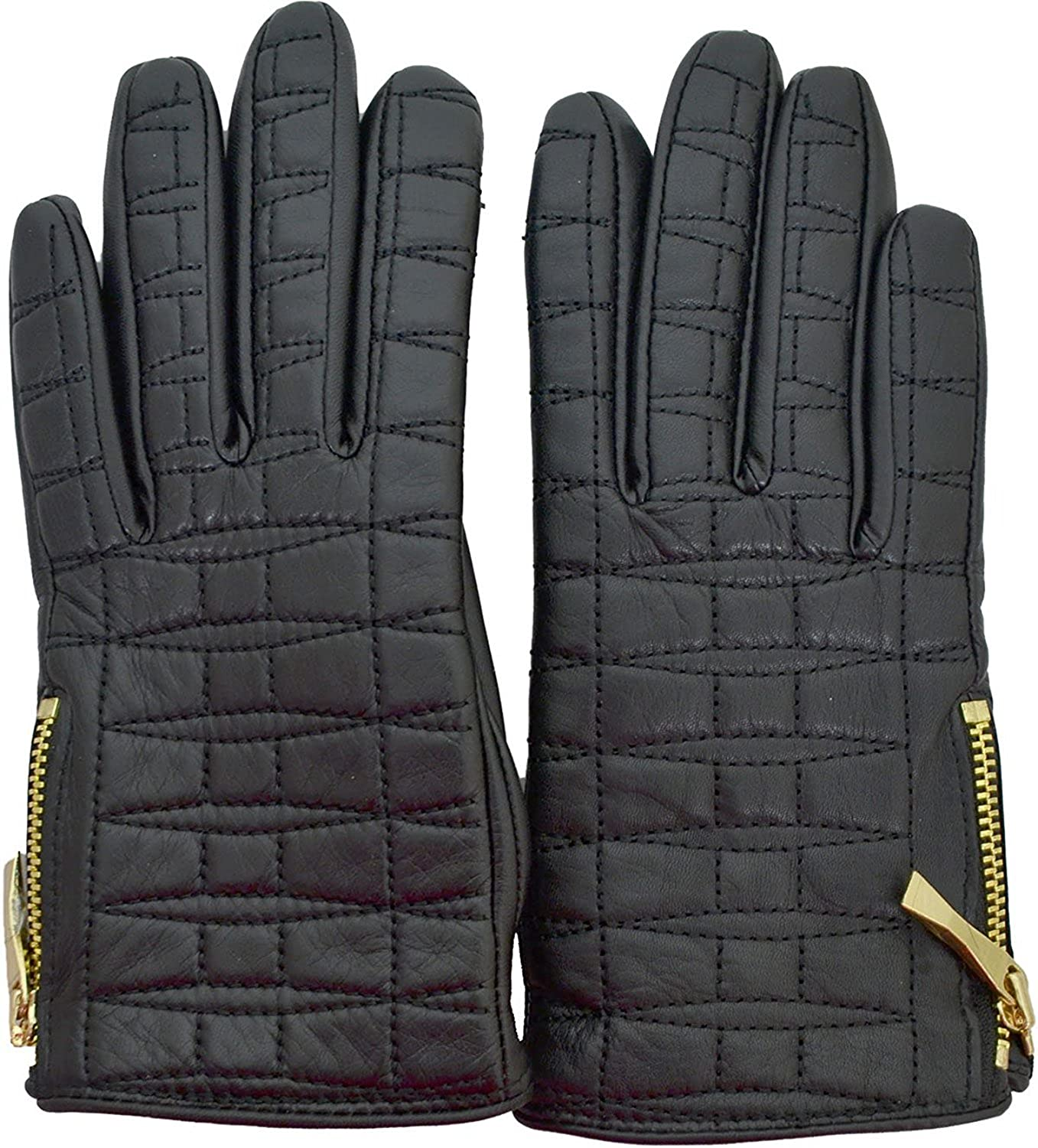 Kate Spade New York Women's Bethesda Terrace Quilted Logo Glove Black 7 00_ICJEFSRT_02