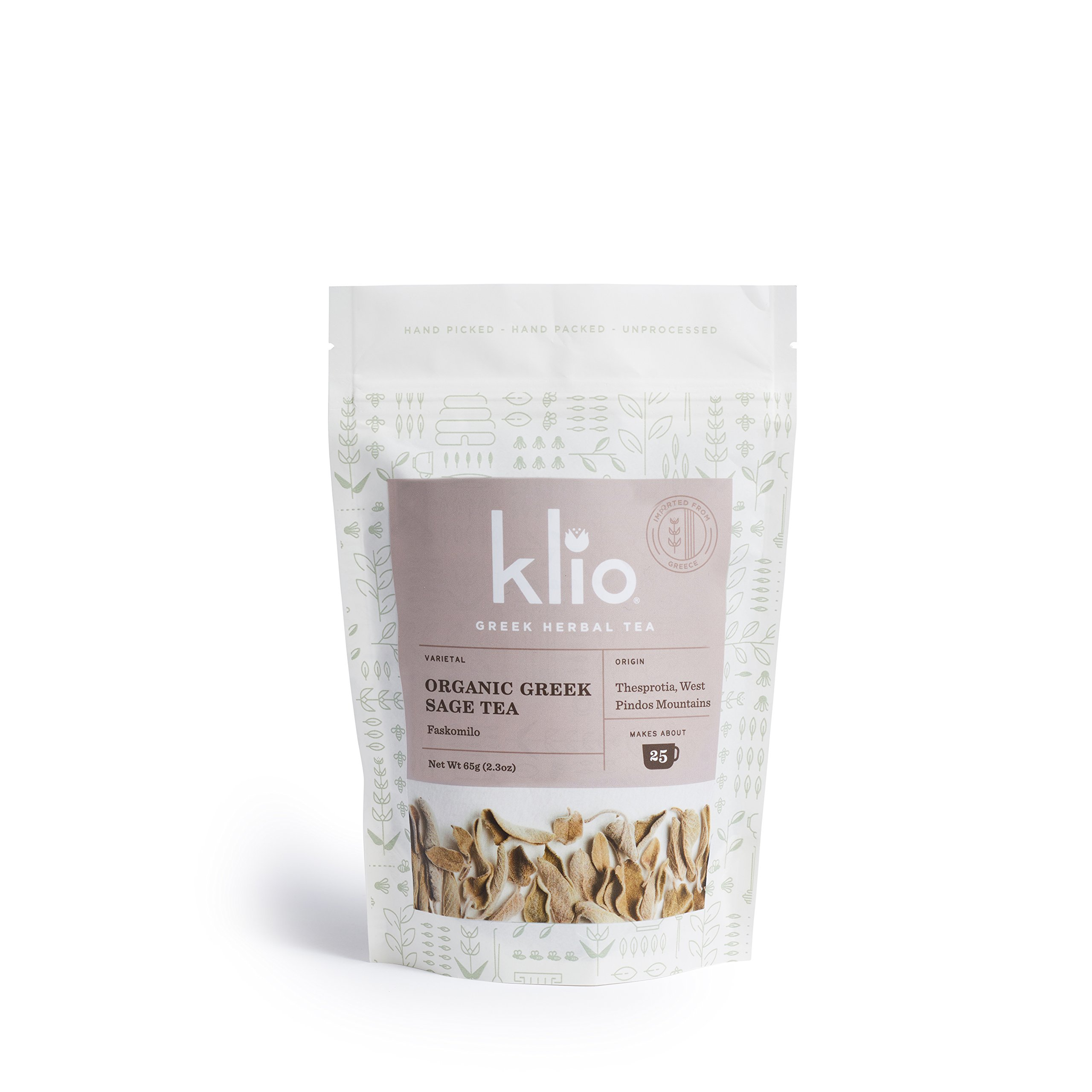 Greek Sage Tea - Certified Organic
