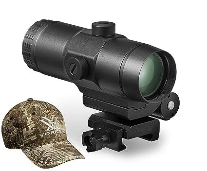 amazon com vortex vmx 3t sight magnifier with vortex hat sports