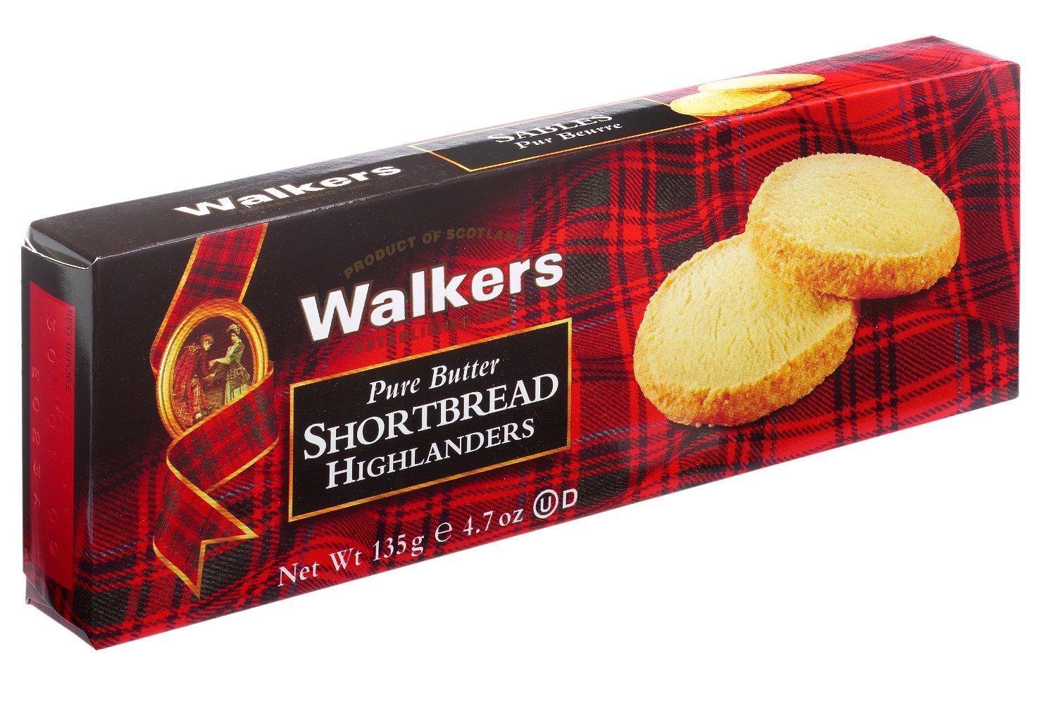 Walkers Shortbread Highlanders, 4.7 Ounce Box